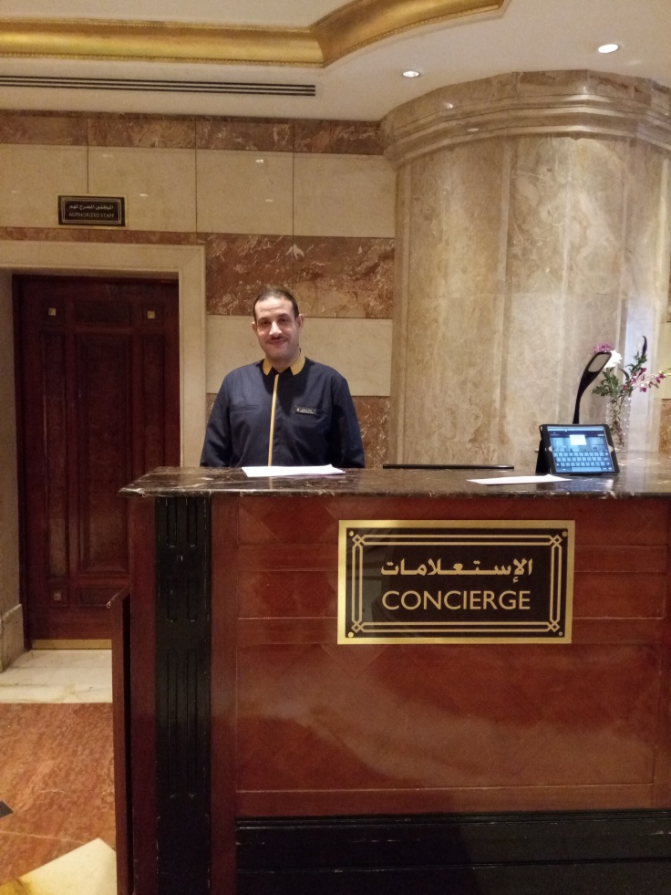 The Chief Concierge Desk
