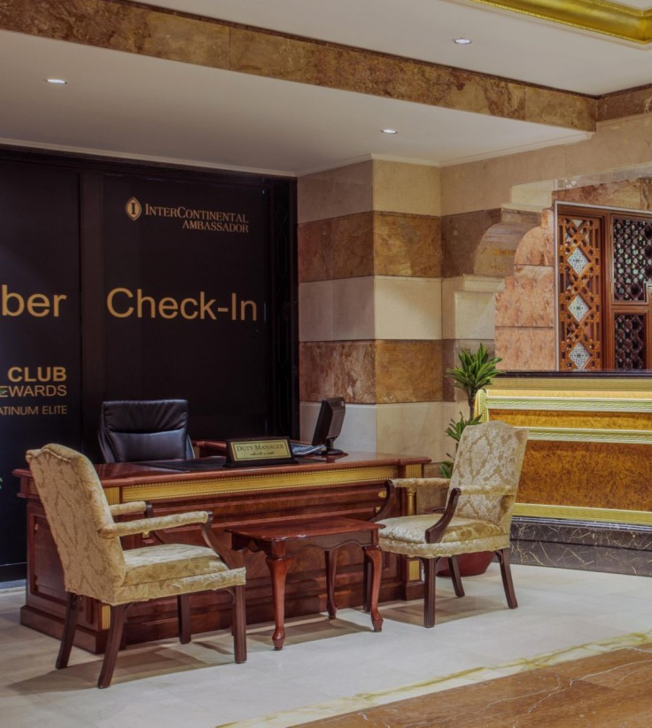 Hotel Intercontinental Loyalty Members Check In
